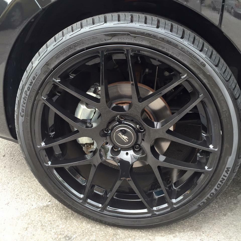 New bespoke wheels